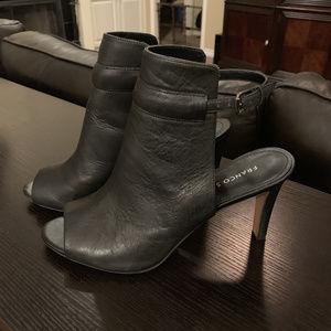 Franco Sarto Sz. 9.5 Peep-Toe heeless heels